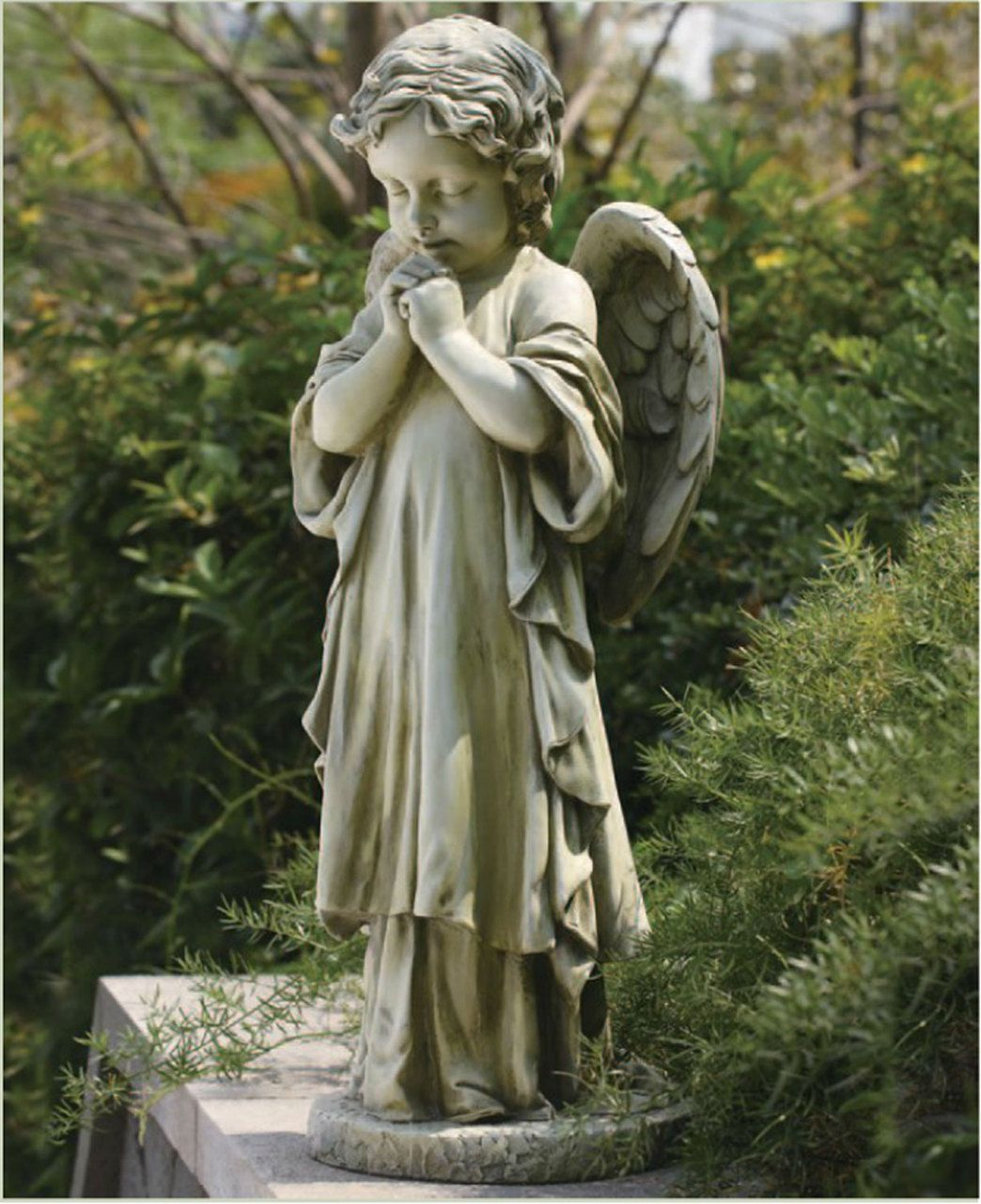 "Small Angel Statues For Graves: Joseph's Studio 26"" Cherub"