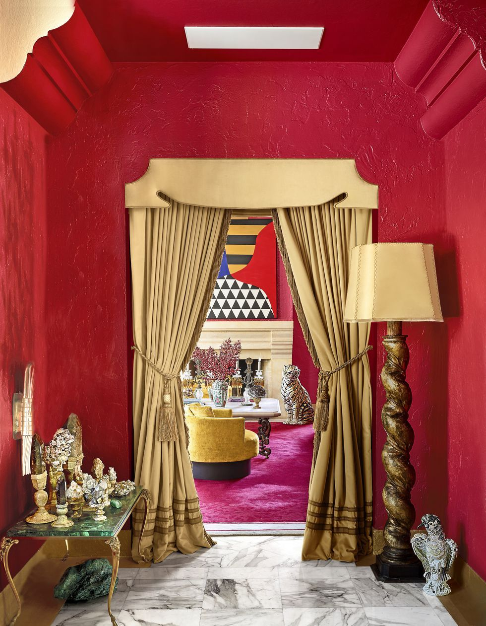Inside The Flamboyant Miami Beach Home Of Hotelier Alan Faena