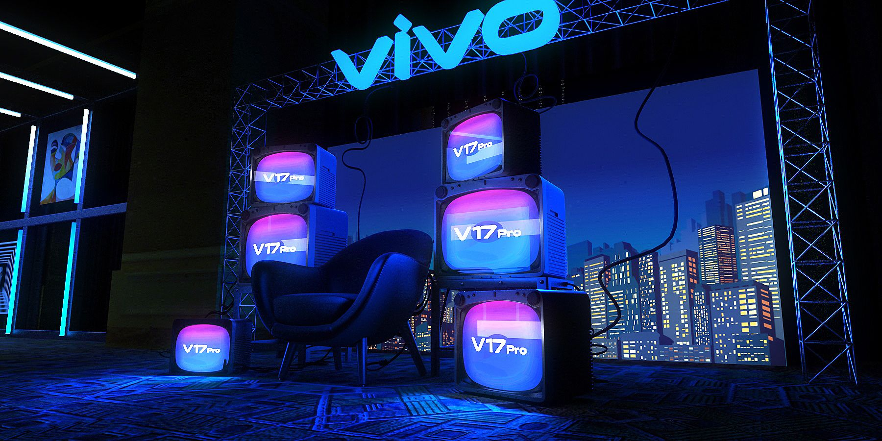 VIVO EVENT on Behance Exhibition design, Event, Vivo