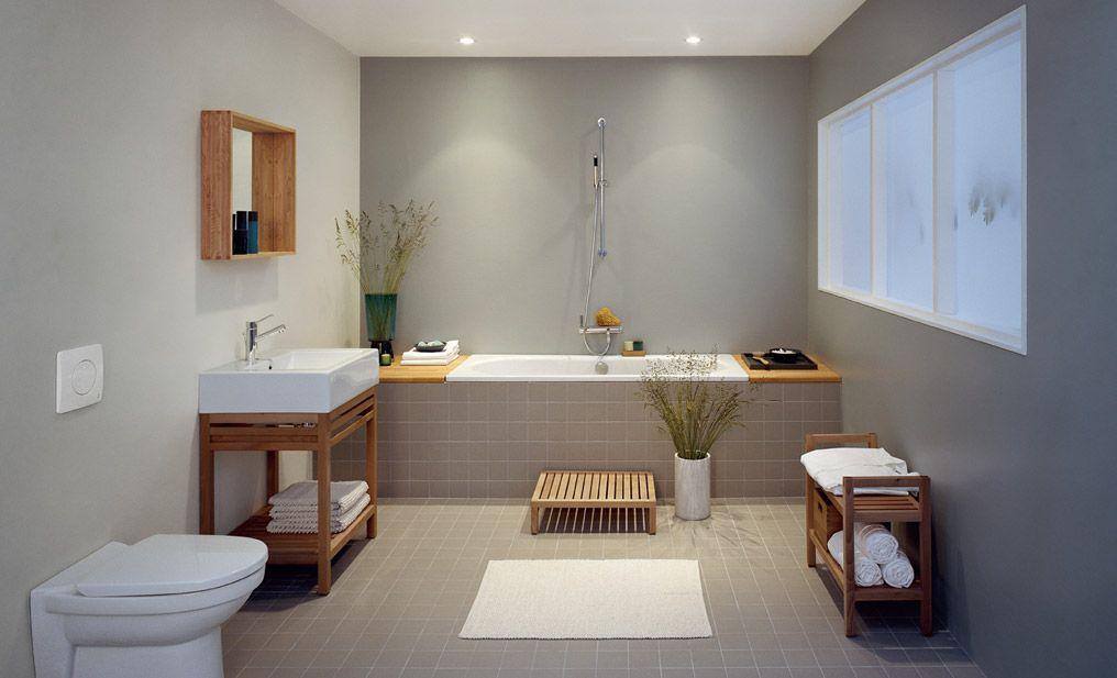 badrum med våtrumstapet