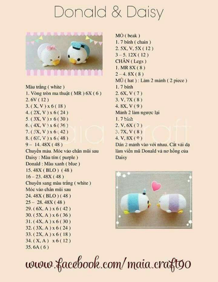Pin by B on Crocheting | Pinterest | Amigurumi, Crochet and Patterns