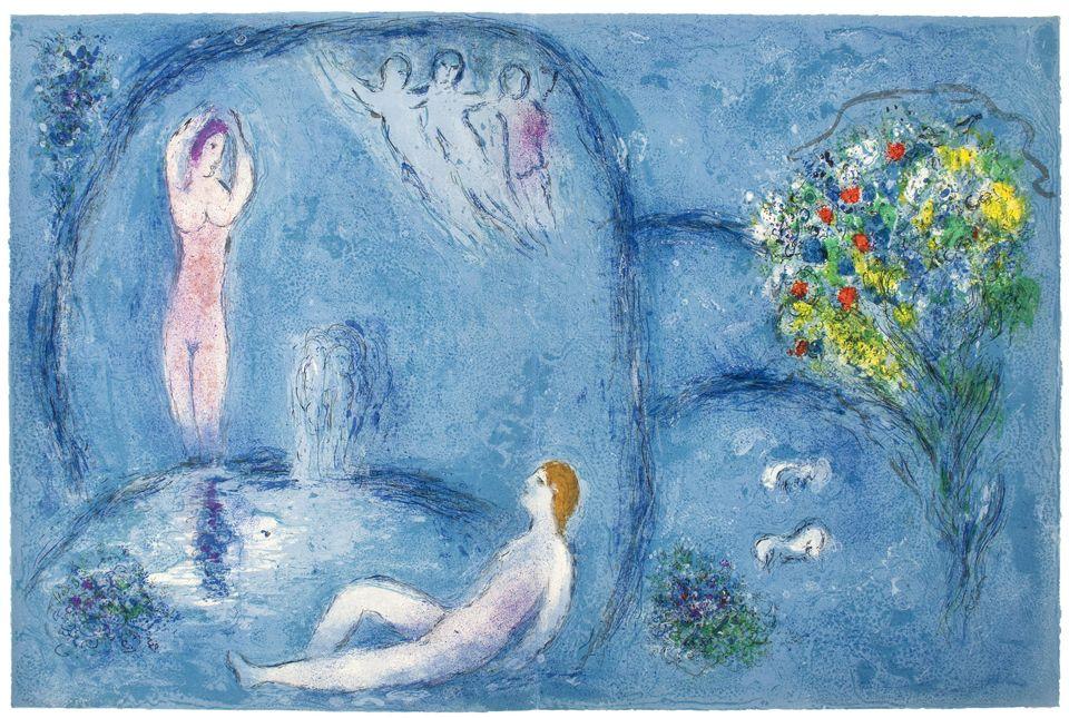 Chagall - Daphne et Chloe
