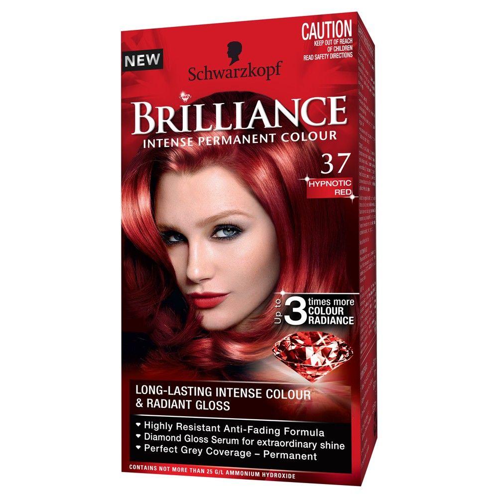 Schwarzkopf Brilliance 37 Hypnotic Red 1 Pack Schwarzkopf Hair Color Schwarzkopf Vintage Hair Accessories