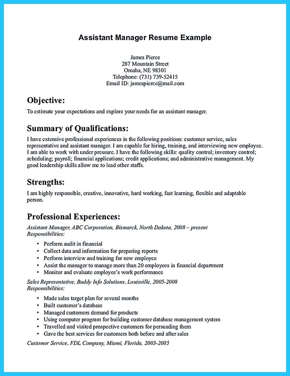 Inventory Manager Resume Nice Store Assistant Manager Resume That Can Bag You Check More At .