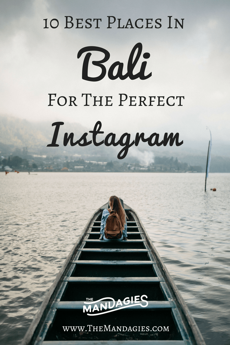 10 Adventurous Instagram Spots In Bali Indonesia Bali Travel