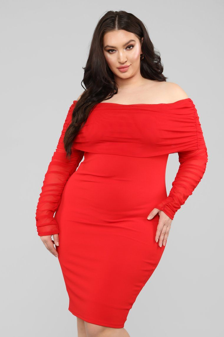 Take Me On A Dinner Date Dress Red Dinner date dresses