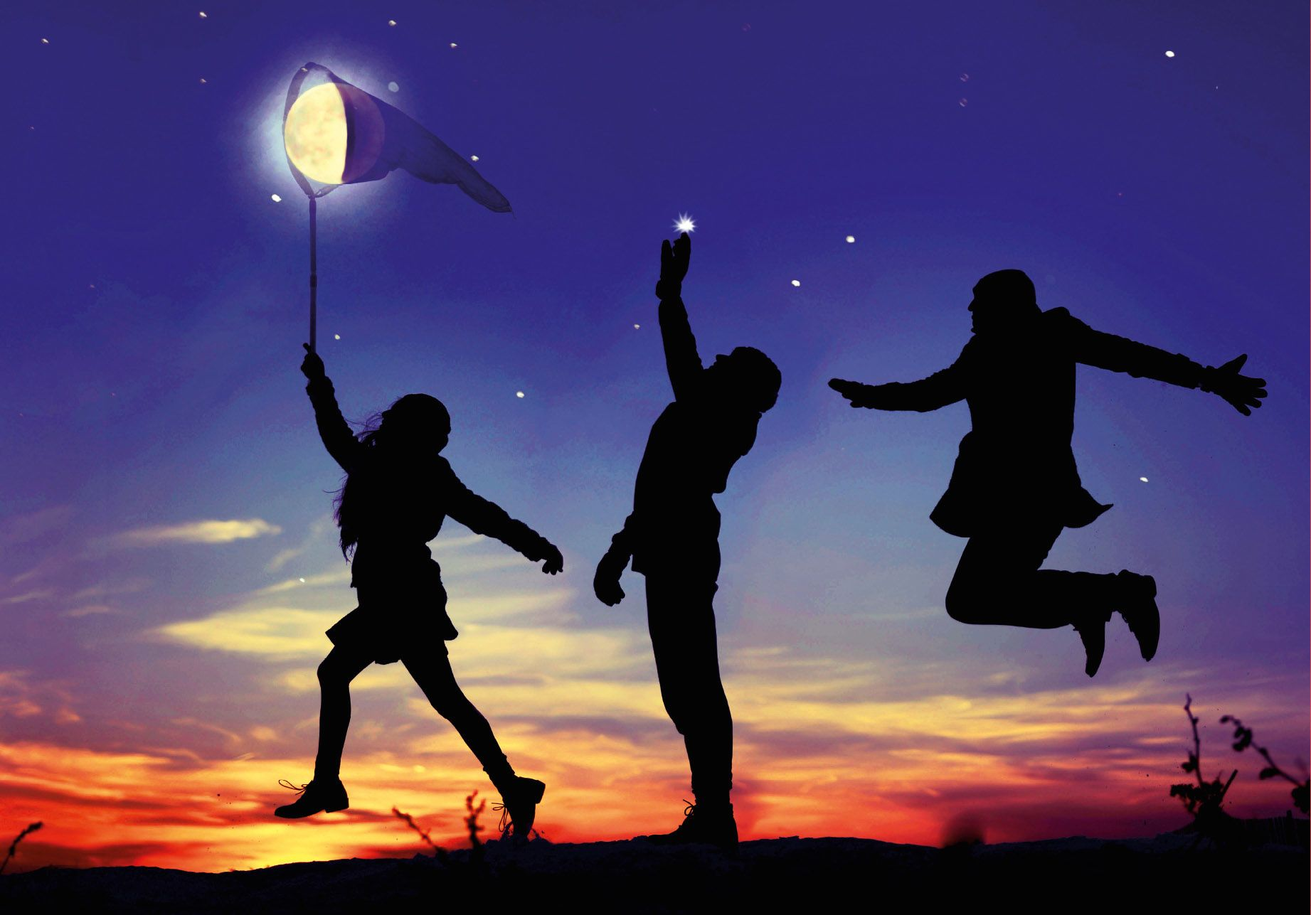 Catch the moon! <3
