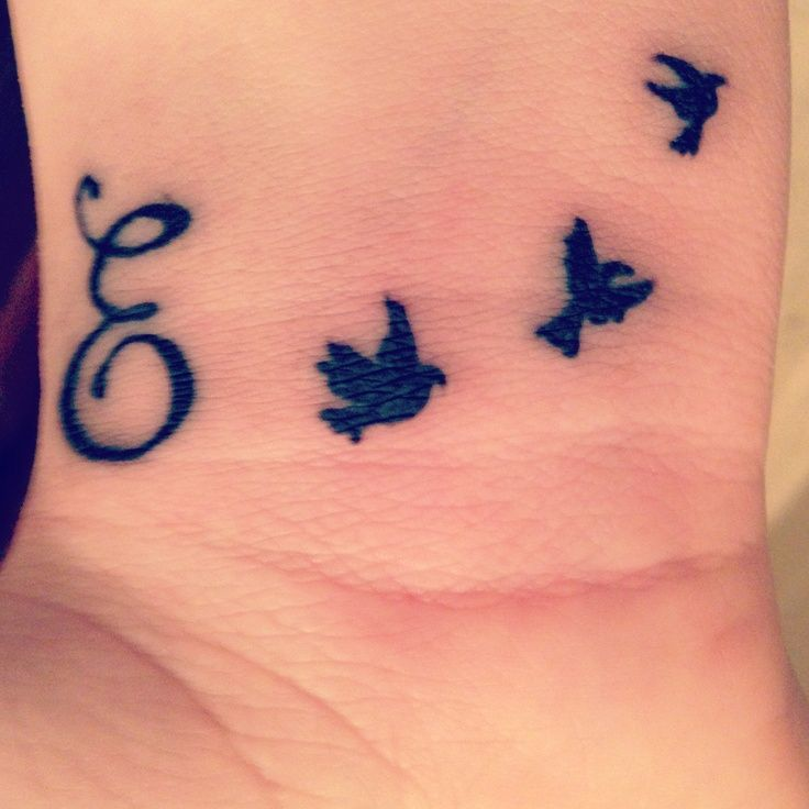 Small Letter Tattoos Wrist - Google Search