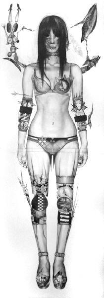 Pencil drawings|ASAKURA KEIRYU