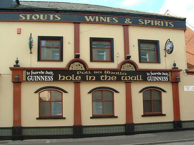 belfast hole in the wall pub england ireland belfast on hole in the wall id=35715