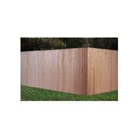 6 Ft X 8 Ft Incense Cedar Dog Ear Wood Fence Panel Lowes Home Improvements Wood Fence Home Improvement
