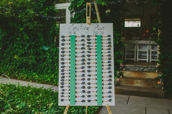 Seating chart for long tables also wedding pinterest rh
