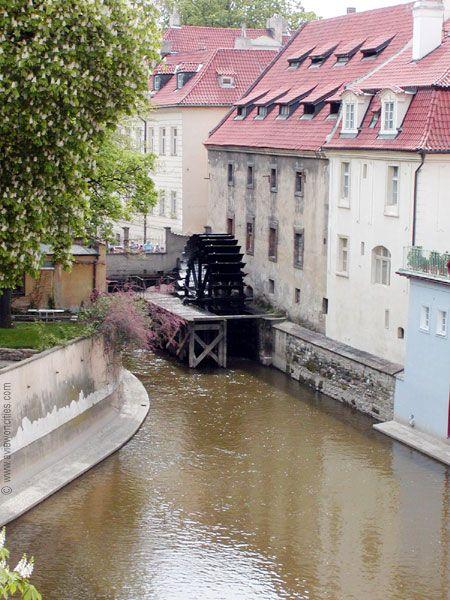 Water Mill at Kampa Island - Prague, Czech Republic