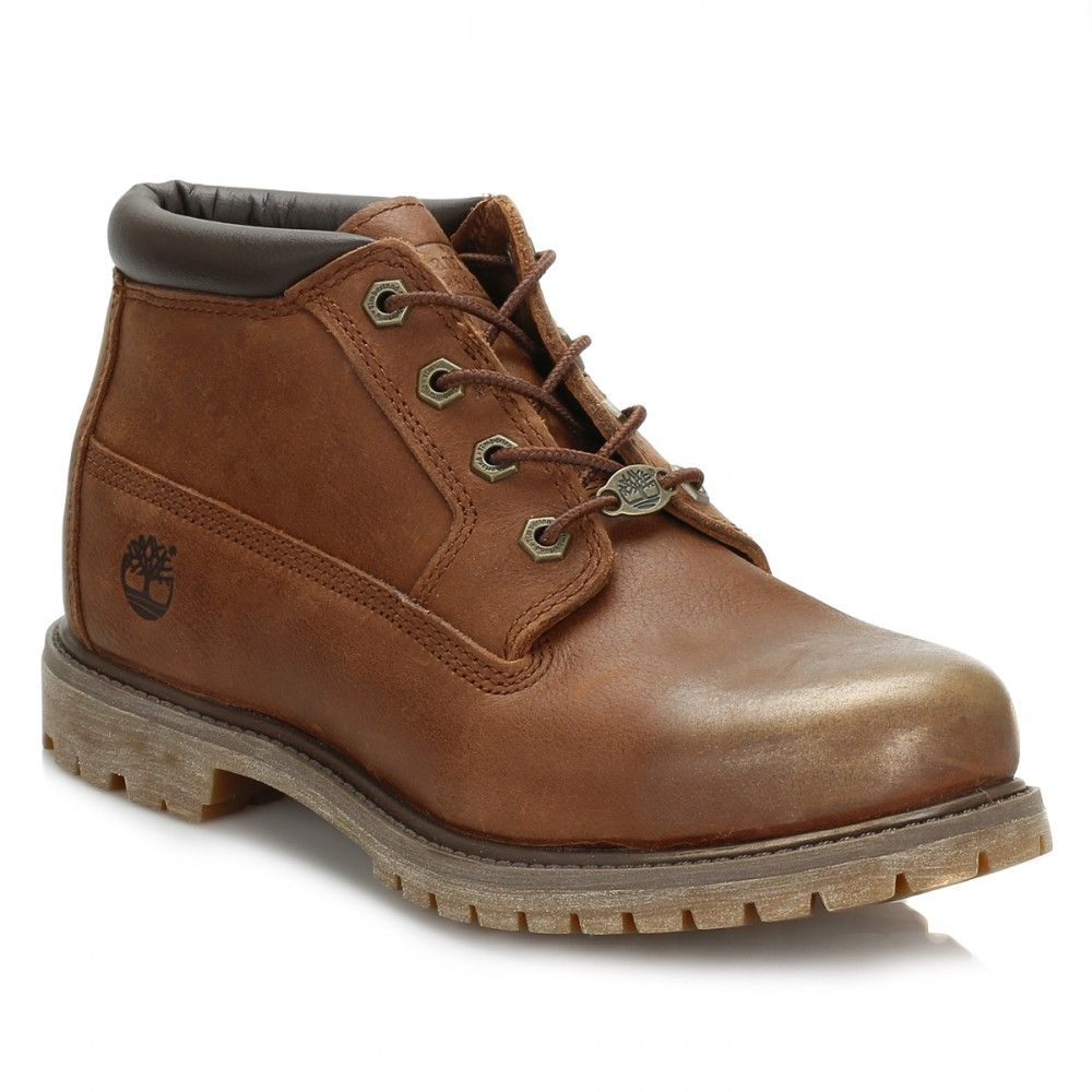 Timberland Womens Dark Brown Nellie Chukka Double Boots
