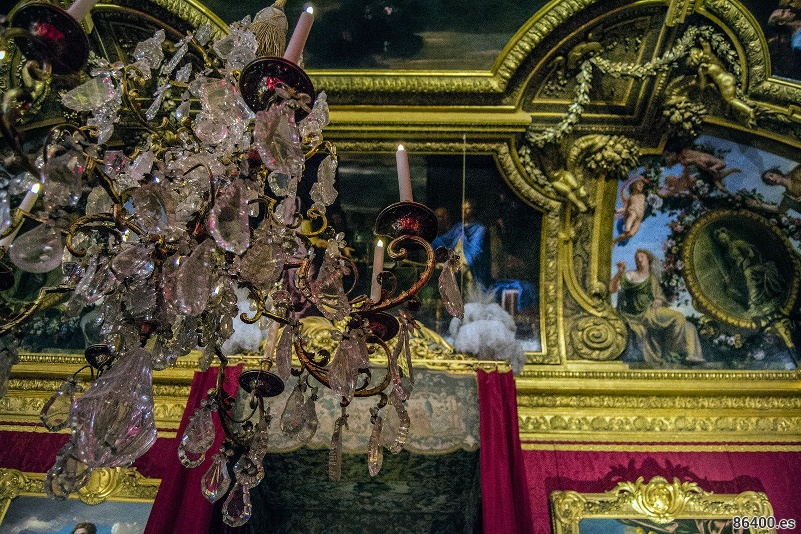 Cámara del rey – Aposentos privados del Palacio de Versalles 2