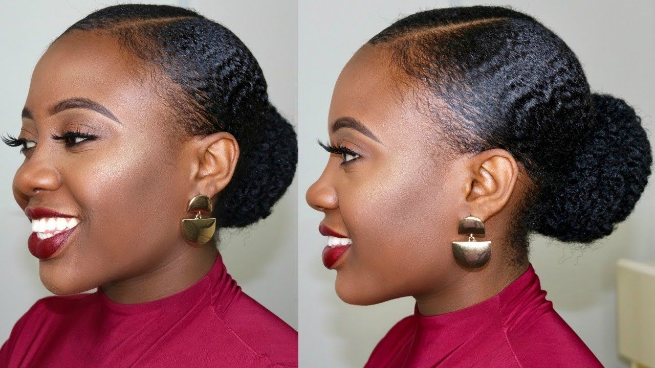 4c Natural Hair Stays Slick Down For One Week How To Stop Gel From Fl Natural Hair Ponytail 4c Natural Hair Natural Hair Gel