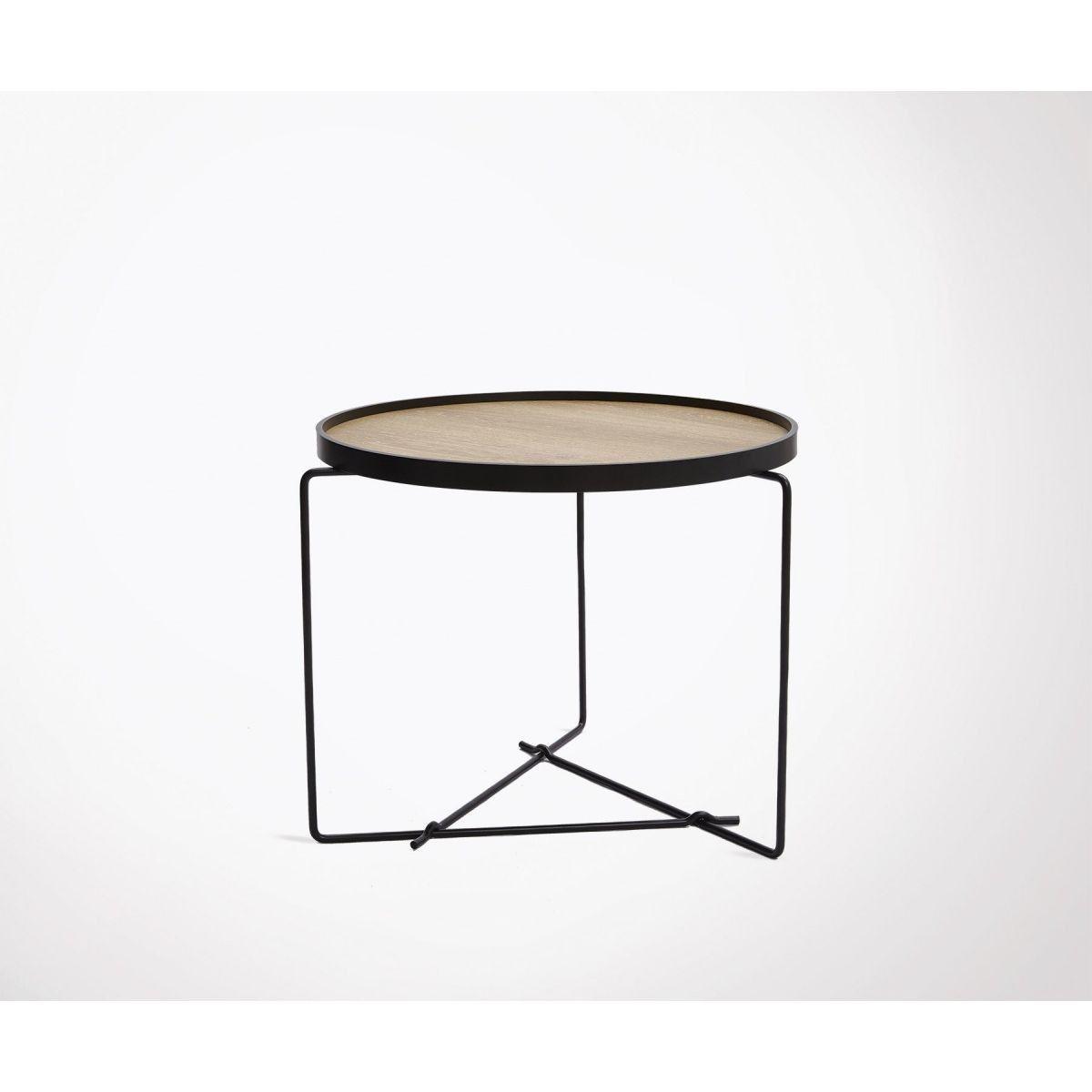Petite Table Basse Design Bois Metal Winel Table Basse Design