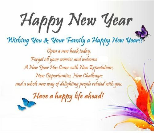 happy new year thoughts happy new year 2017 quotes happy new year message