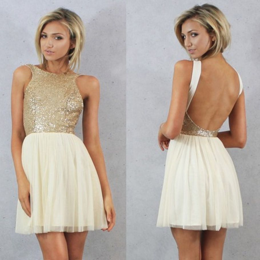 Free shipping buy best champagne gold sequin short bridesmaid free shipping buy best champagne gold sequin short bridesmaid dresses 2017 ombrellifo Image collections