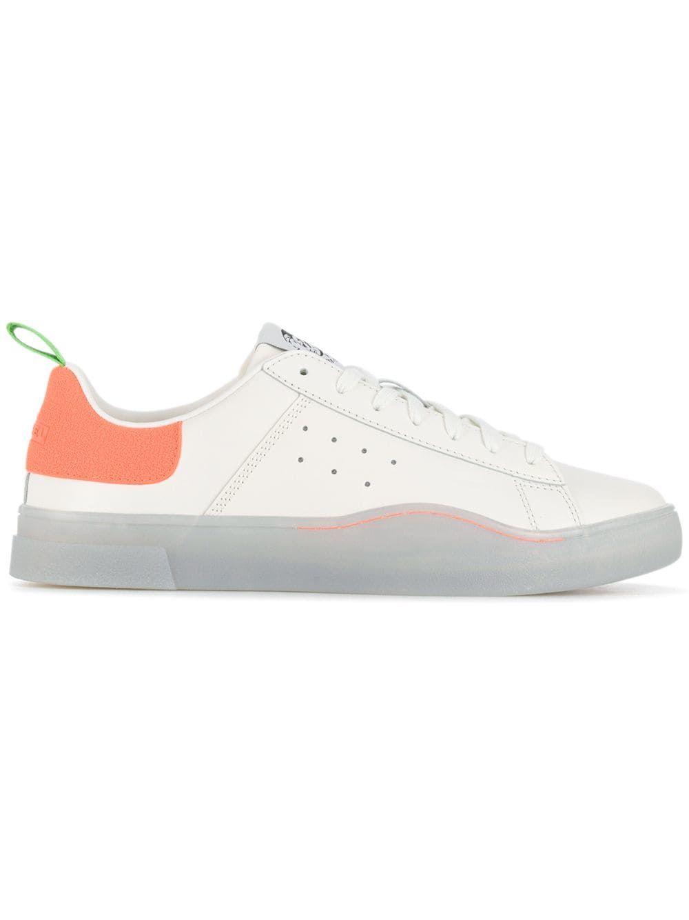 Diesel Low Top Sneakers In White