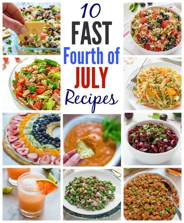 10 Fast Fourth Of July Recipes. These Are Healthy Too