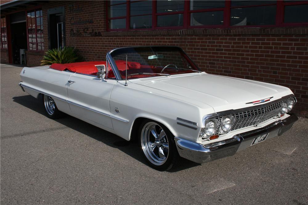 1963 Chevrolet Impala Custom Convertible Barrett Jackson Auction Company Chevrolet Impala 63 Chevy Impala Impala