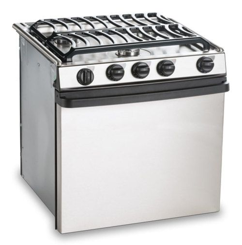 E Cooktops Find The Best Gas Cooktop For Your Boat Or Rv Dometic >> Dometic Atwood Ra 2135sspsa Oven 3 Burner Stove Stainless Steel