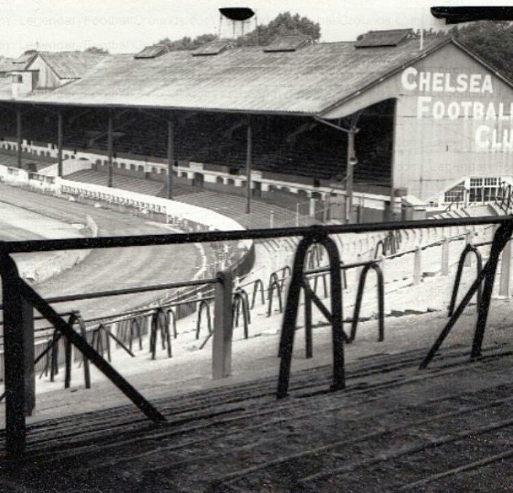 Image result for stamford bridge in the fifties
