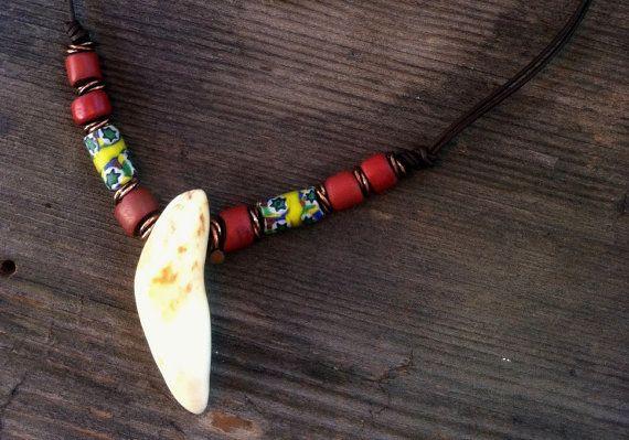 One Tribe...Fossilized Ivory on Etsy, $30.00