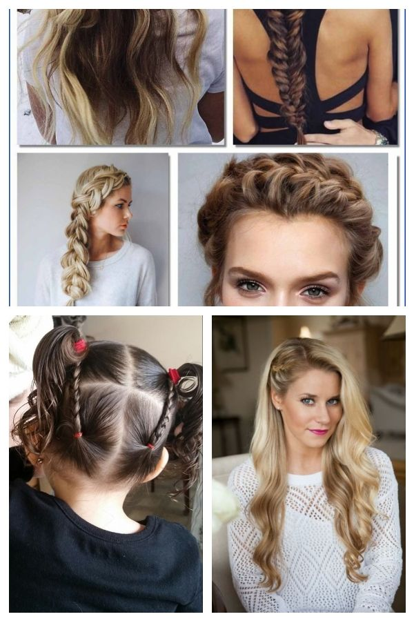 Easy Braided Hairstyles For Long Hair Youtube 126 Best Hairstyles 1920slonghai Braidedhairs Braids For Long Hair Braided Hairstyles Easy Braided Hairstyles