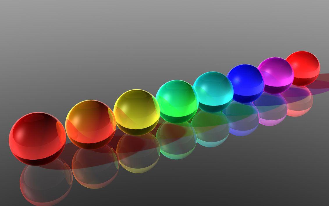 rainbow marbles by nukem2000 on DeviantArt