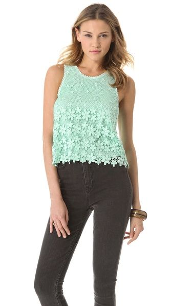 Dolce Vita Maurina Lace Top | SHOPBOP