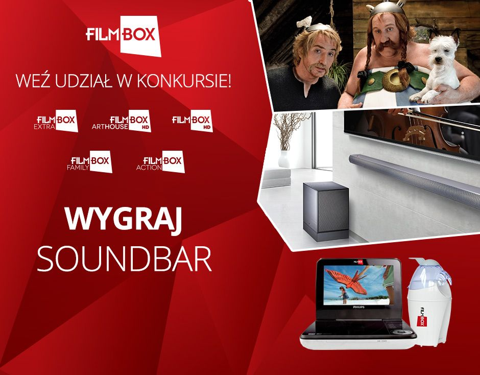 #upc #konkurs #filmbox #phlips #soundbar