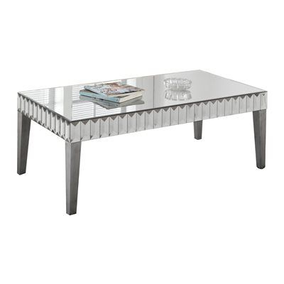 Bon Monarch Specialties I 3720 Mirror Coffee Table
