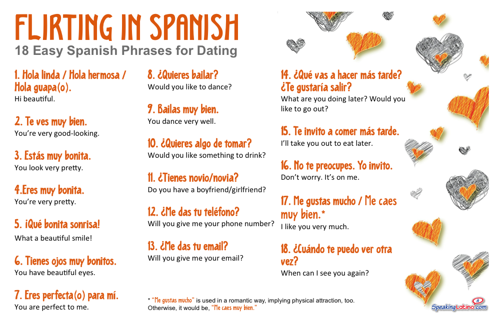 flirting quotes in spanish english version pdf online