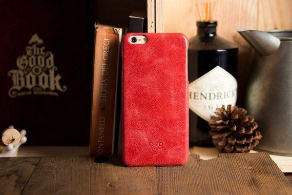 Alto Handmade Premium Italian Leather Case For Apple Iphone 6 Plus