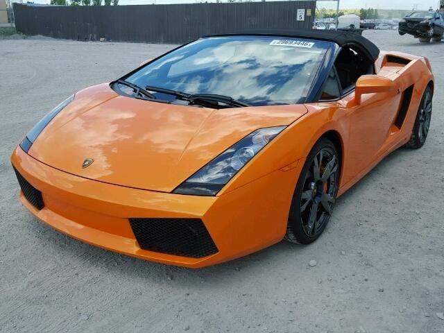 2007 #lamborghini #gallardo s 5.0l 10 for sale at copart auto