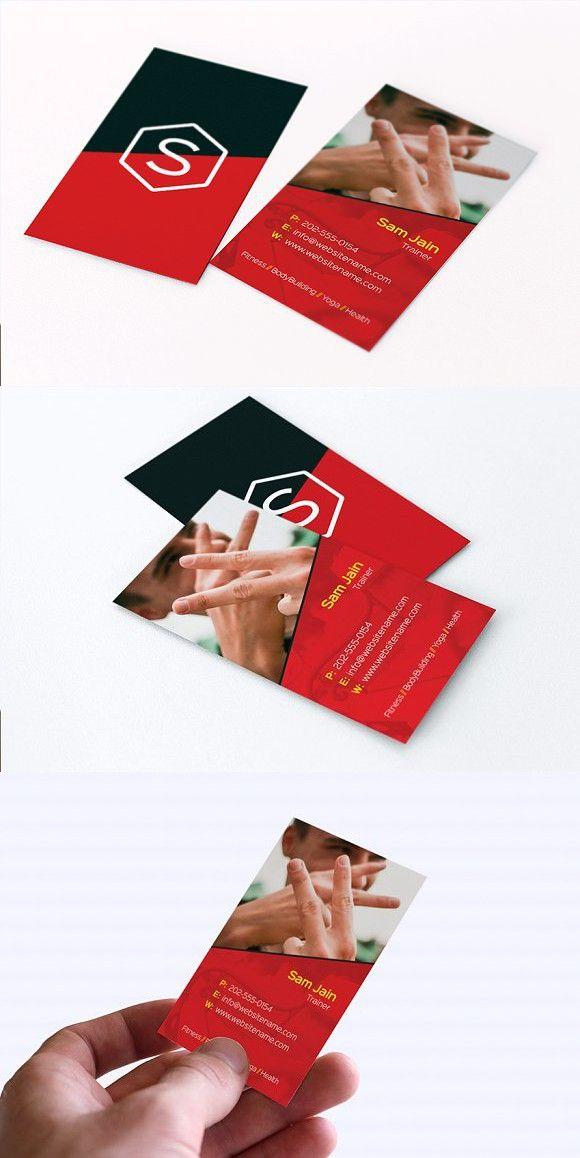 trainer  photographer business card  photographer