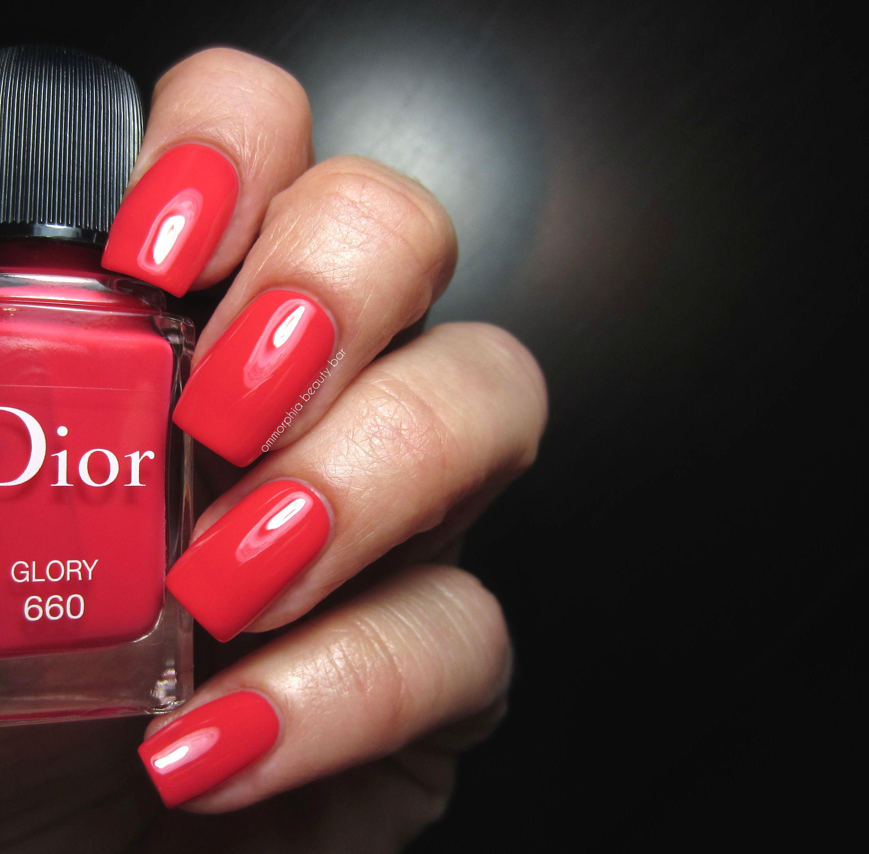Dior #660 Glory swatch | N A I L S | Pinterest