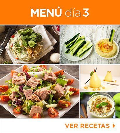 Recetas comida sana para bajar de peso