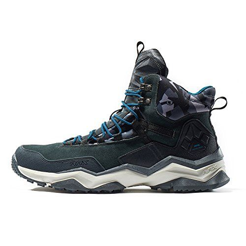 Rax Wolf School New Stlye Lightweigth Mid Top Waterproof Leather Hiking  Boots 635B370 44 carbon     For more information 46835f7aa7b