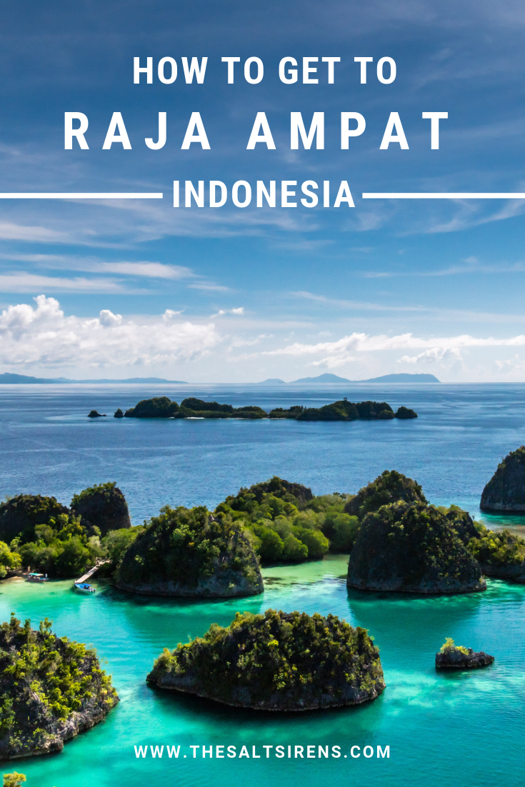 Raja Ampat is one of the most stunning destinations in the world and you'd be hard-pressed to find a scuba diver who doesn't have it listed on their bucket list. One of the first things people want to know about this scuba diving paradise is how to get to Raja Ampat. #rajaampat #indonesia #indonesiatravel #asiatravel #ravelguide