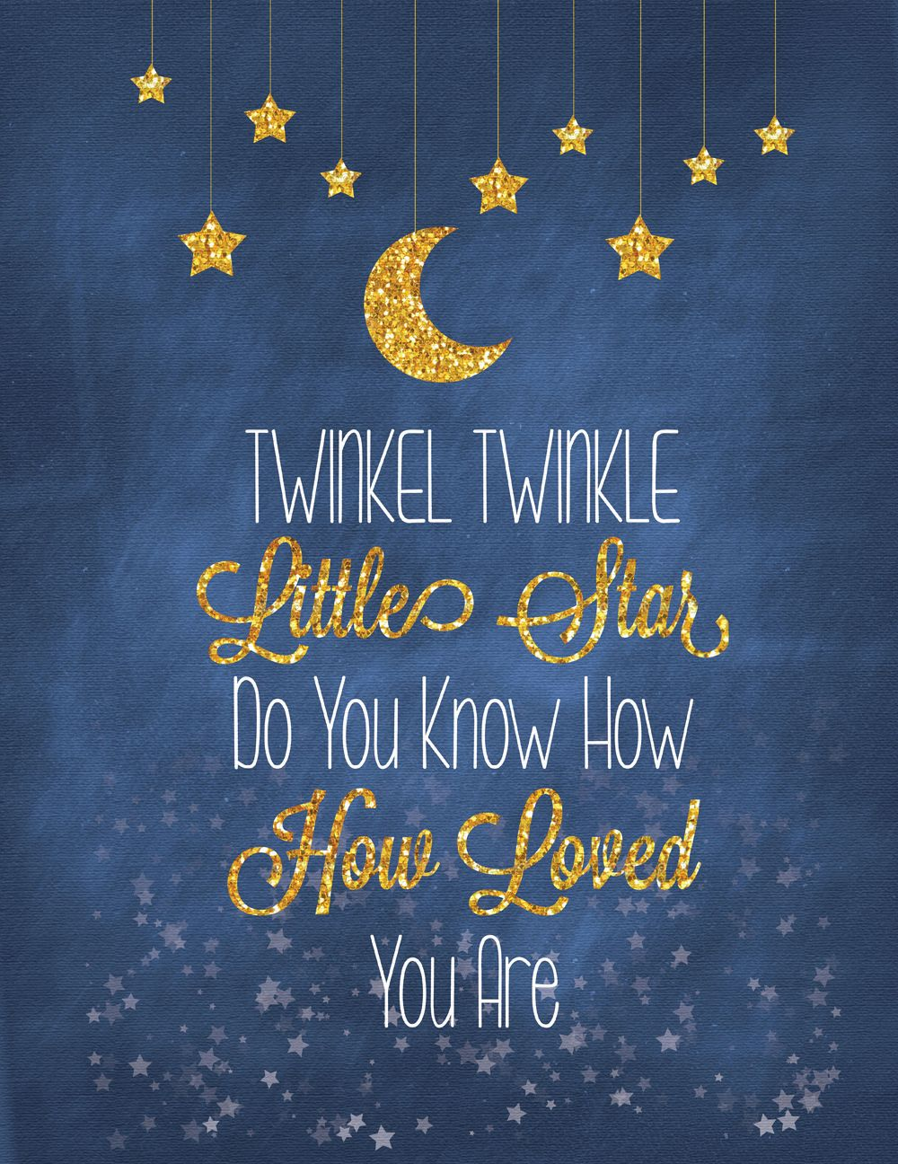 Twinkle Twinkle Little Star | Do You Know How Loved You Are | CANVAS ...