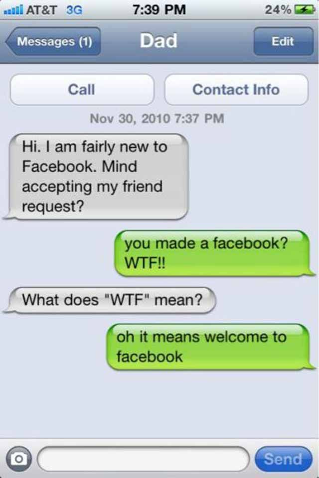 Funny Text Messages To Send To A Guy You Like Laugh Funny Texts - 25 hilarious facebook fails ever