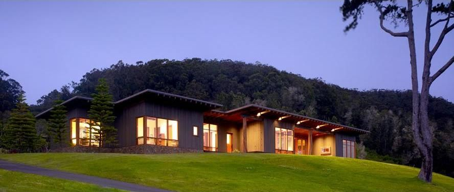 House design fetching ranch house modern wooden form - Modern ranch home interior design ...