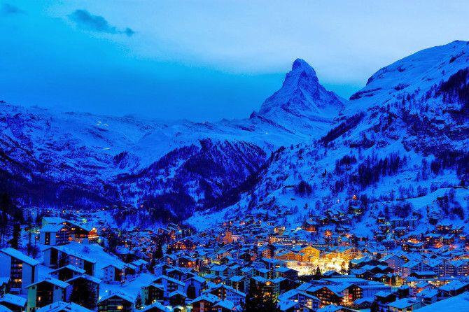 Top 15 Best Ski Resorts In The World Zermatt Winter Travel Destinations Best Ski Resorts