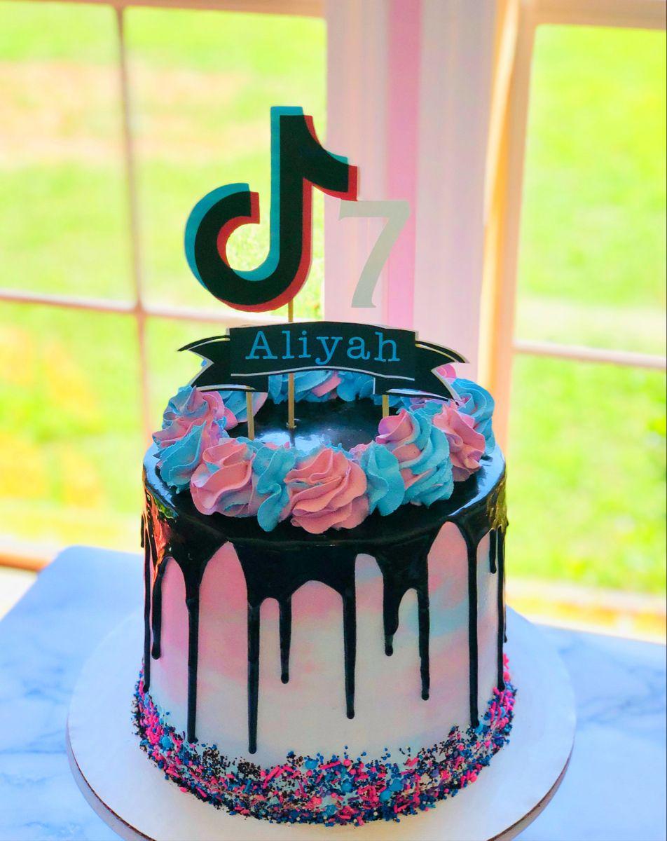 Tik Tok Birthday Cake Birthday Cakes For Teens Baby Birthday Cakes Cake Designs Birthday