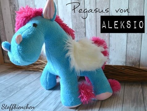 Schnittmuster + Nähanleitung Pegasus (Pony) in zwei Größen ...