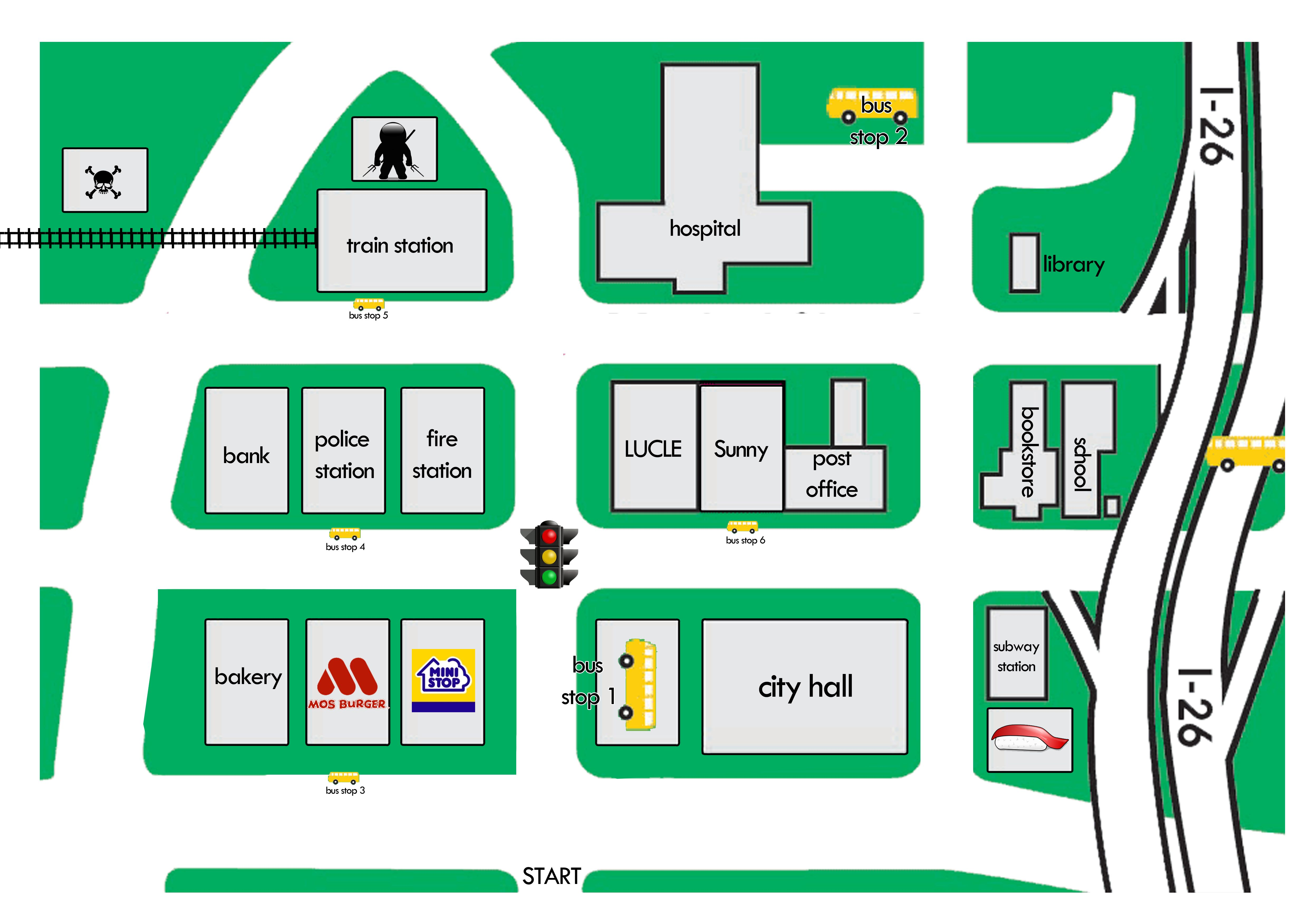 Full Simple Map Street Simple Map Direction Map Simple Map