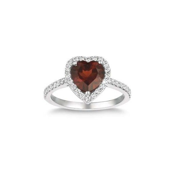 costco jewelry sale costco shaped garnet ring 14kt white 4889